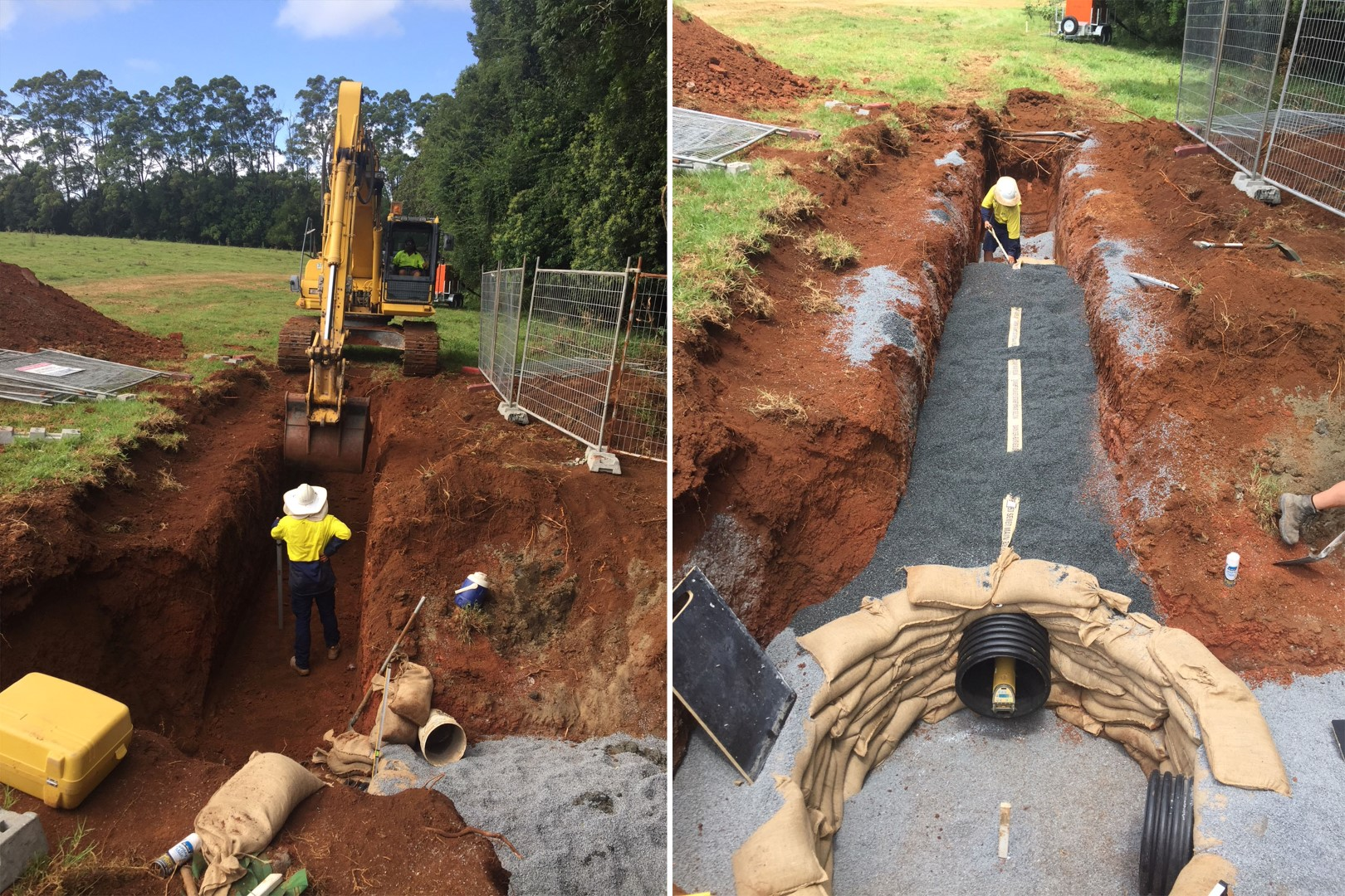 Alstonville Sewer Main works