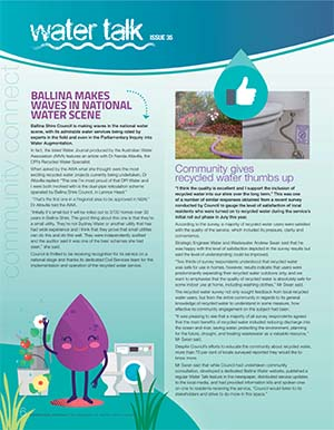 Water talk Issue 35 image